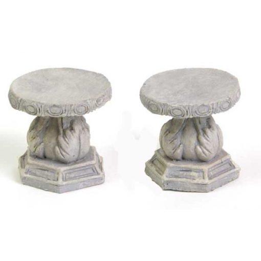 Kő székek (2 db)