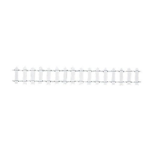 Kerítés fehér 3 cm
