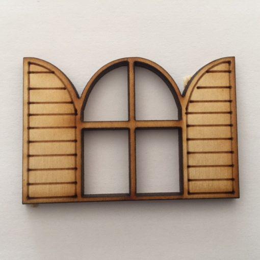 Kétszárnyas ablak