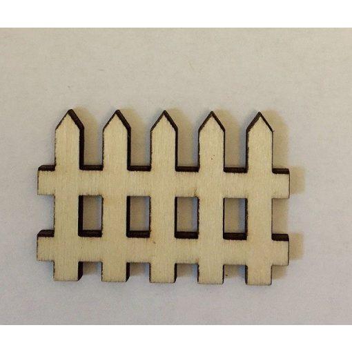 Fa kerítés natúr 5 x 3,5 cm