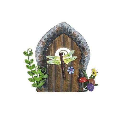 Szitakötős tündér ajtó 16 cm