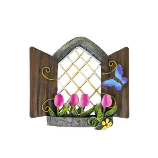 Tündér ablak tulipánokkal