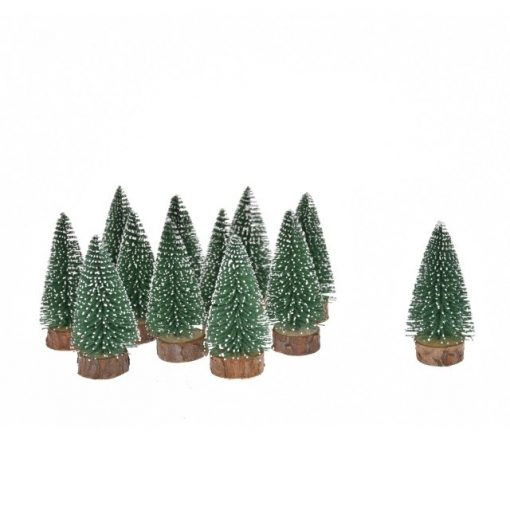Fenyőfa havas 5 cm 12 db