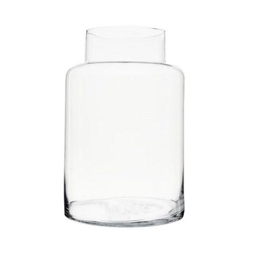 Florárium üveg  38 cm magas