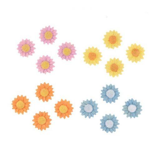 Virágok 2. több színben 16 db