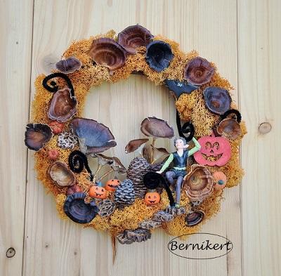 Őszi tündérkert, dekoráció pályázat eredménye